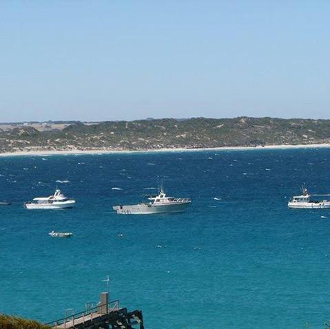 Overlooking Vivonne Bay