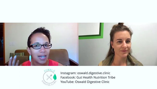 Shelby sharing her experience working with Oswald Digestive Clinic