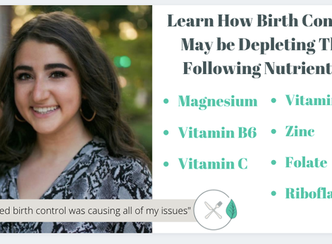 The Role of Birth Control in Nutrient Depletion