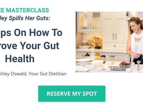 Free Gut Health Masterclass!
