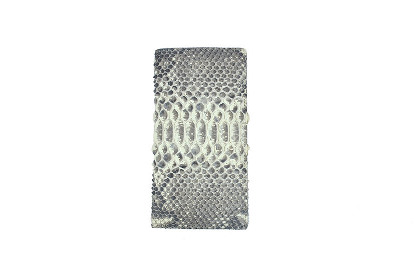 Python Leather Long Wallet