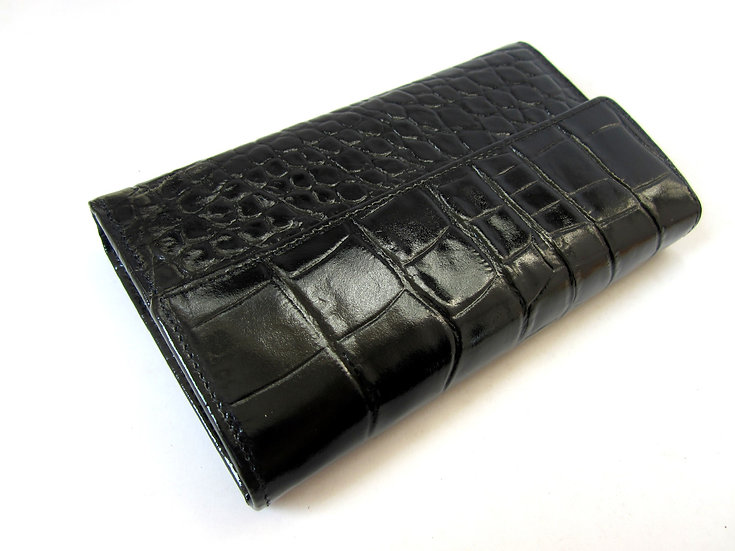 Women Leather wallet Crocodile Amica st230