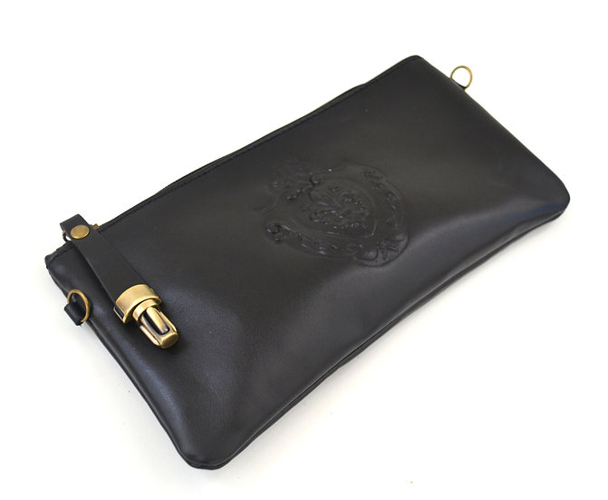 Made in Italy clutch Genuine Leather Florence