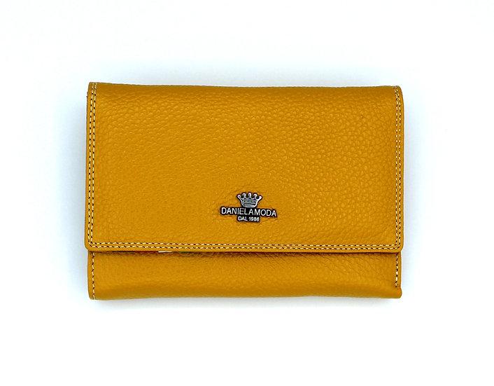 Genuine Leather wallet high quality Italian Daniela Moda