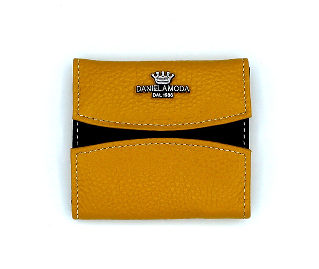 Daniela Moda small Leather wallet new color Yellow