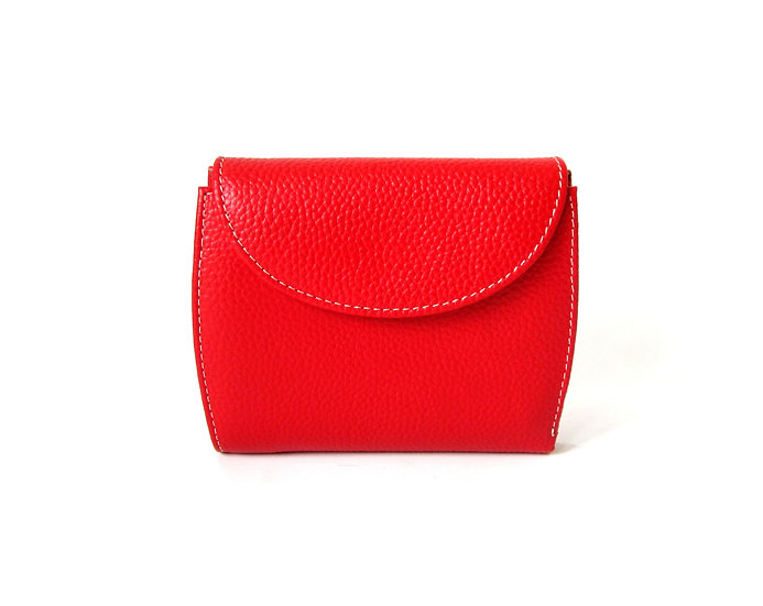 Florence leather wallet with coin pocket