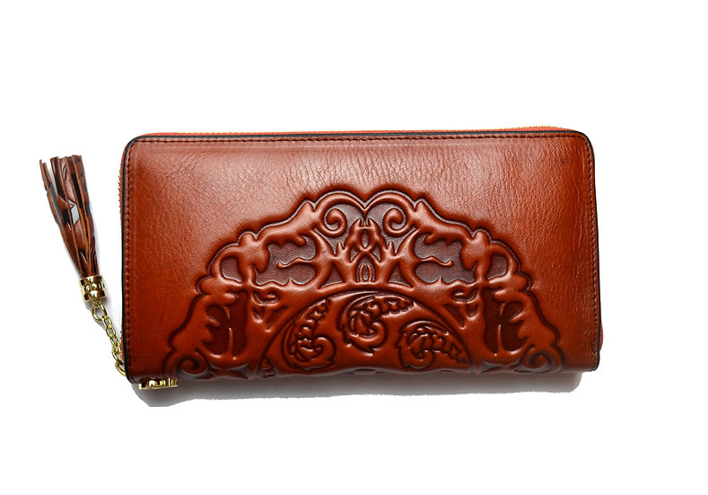 Leather Wallet Elegant quality, Brown
