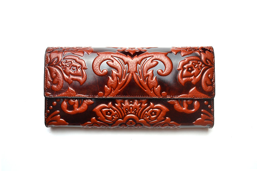 Elegant Leather Wallet Hight quality 007, Brown