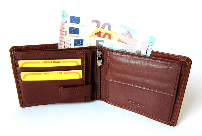 Cavalieri man wallet soft cow leather