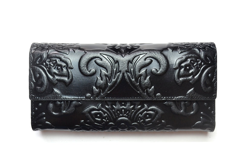 Elegant Leather Wallet Hight quality 007, Black