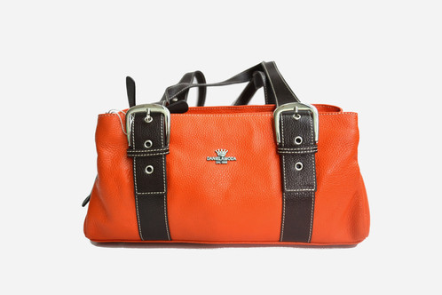 DANIELA MODA three compartments with zipper Handbag 290e8bde6c6aa