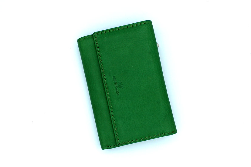 Leather wallet soft leather Italian Daniela Moda