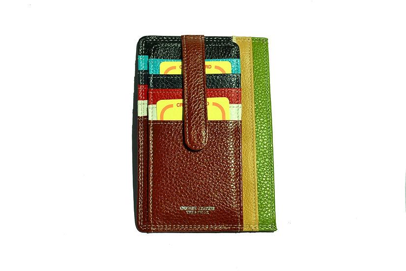 Leather Wallet Card Holder DANIELA MODA