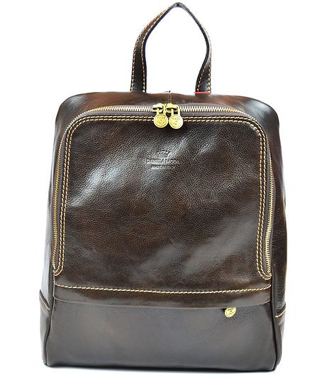 Leather backpack Italy