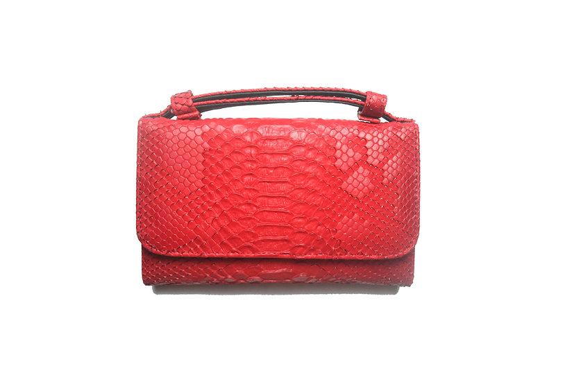 Wallet, Small handbag and cross body bag, Red