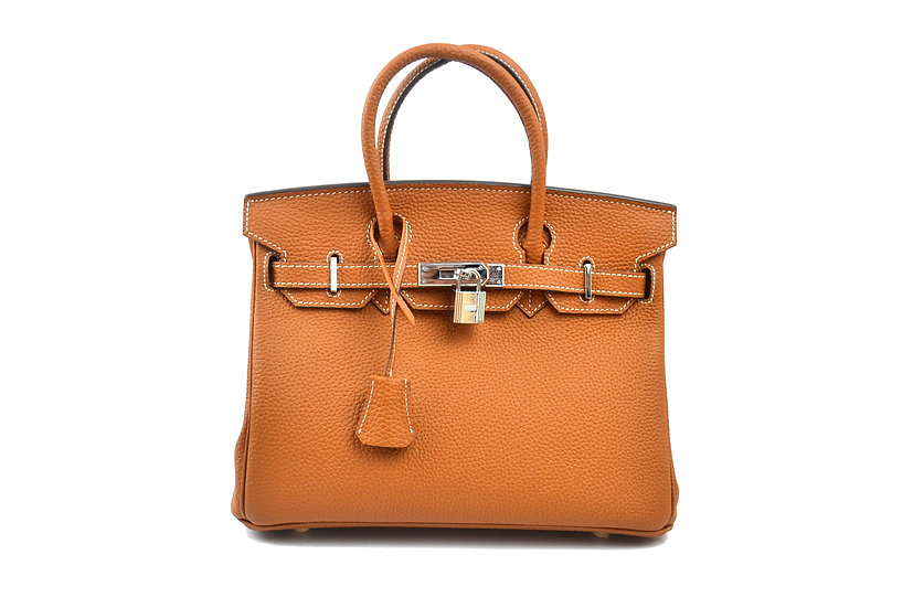 Leather handbag Vera Pelle