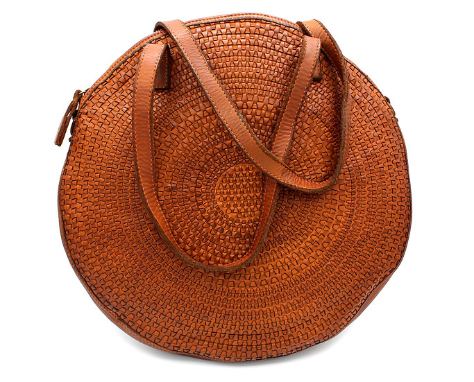 Leather Bag | Leather Purse | Handmade Woven Leather | Leather shoulder bag