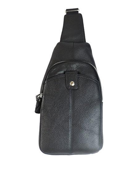Leather shoulder bag, cross body bag