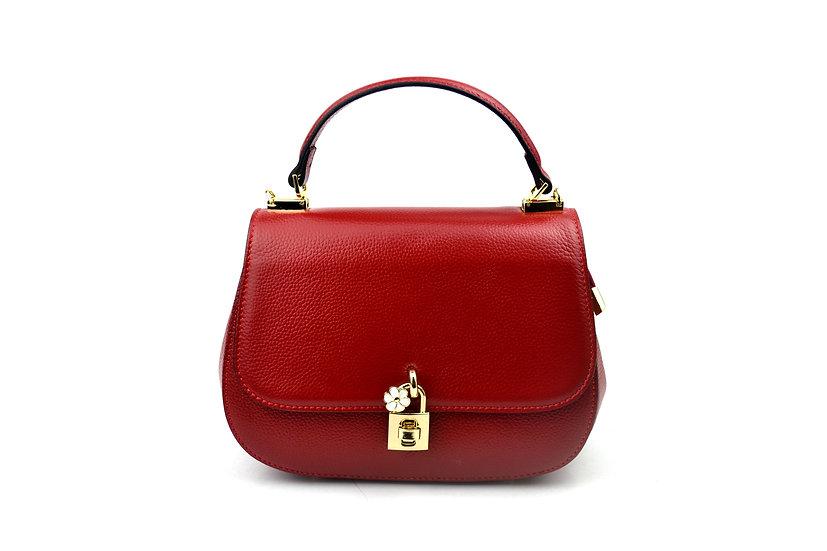 New Leather bag padlock