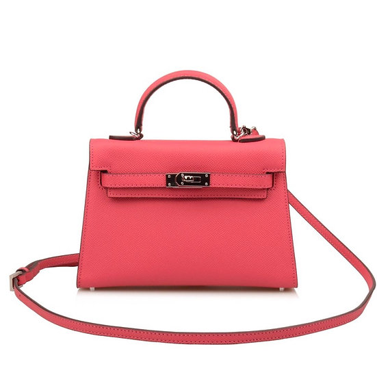 Kelly bag small size cow leather