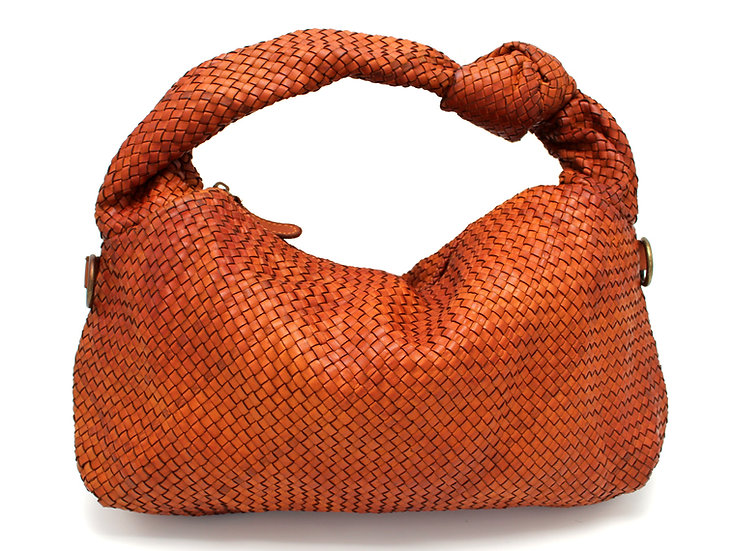 Woven Leather Bag Handmade Gift Idea For Mother Gift for Woman
