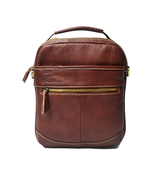 Leather Crossbody bag with handle