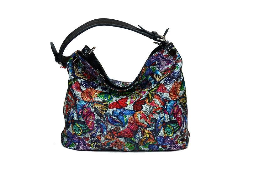 leather bag farfalla black
