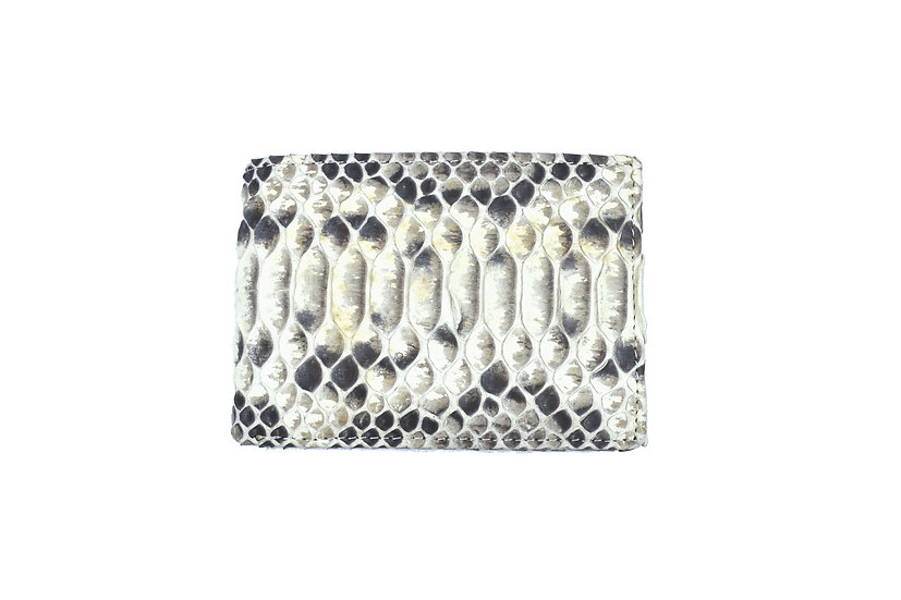 Leather Python Wallet