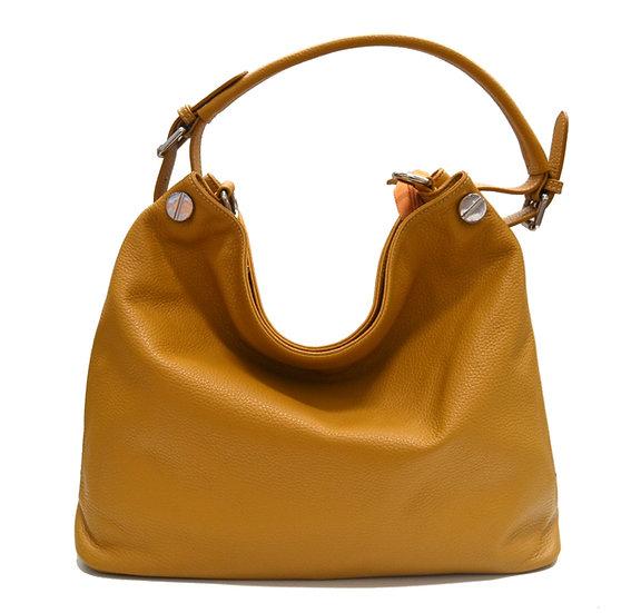 Leather Handbag Vera Pelle Made in Italy