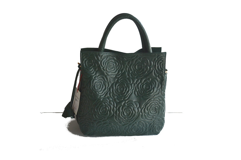 LEATHER BAG GREEN