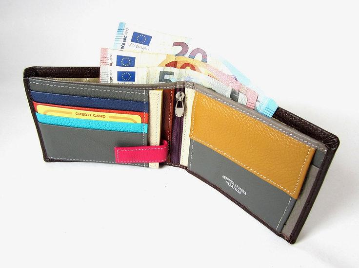 Man Leather Wallet for Pocket