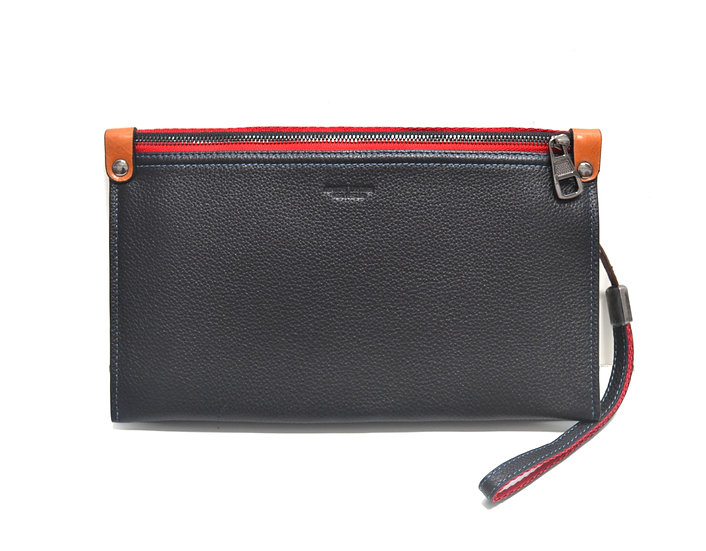 Leather clutch Vera Pelle New