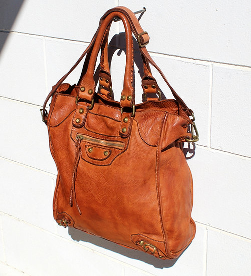 Leather bag Soft Leather Made in Italy Amica