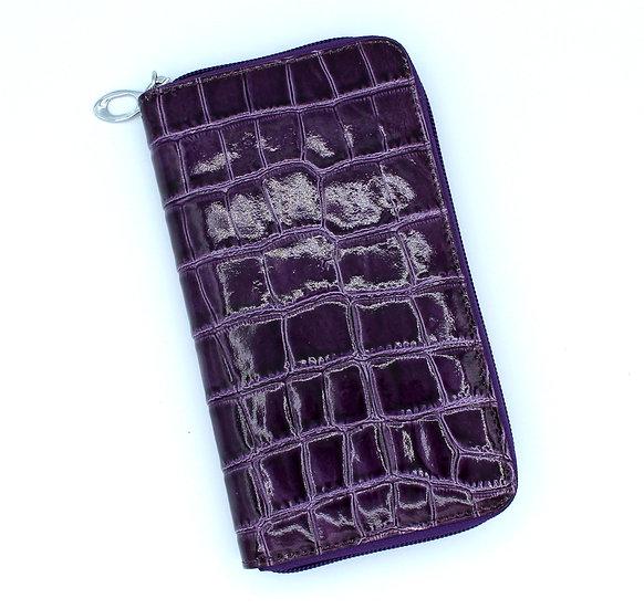 Leather wallet Tuscany Crocodile