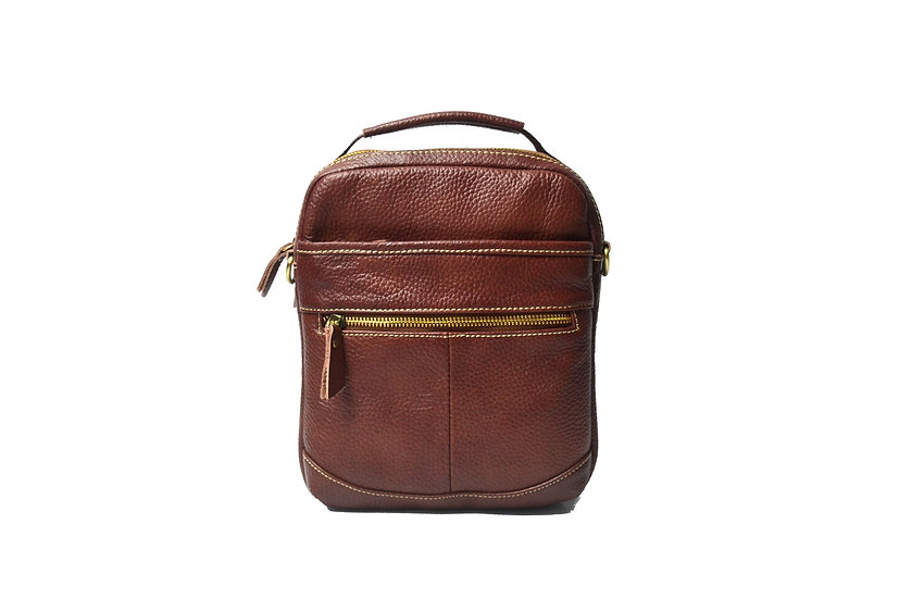 leather cross body bag with handle