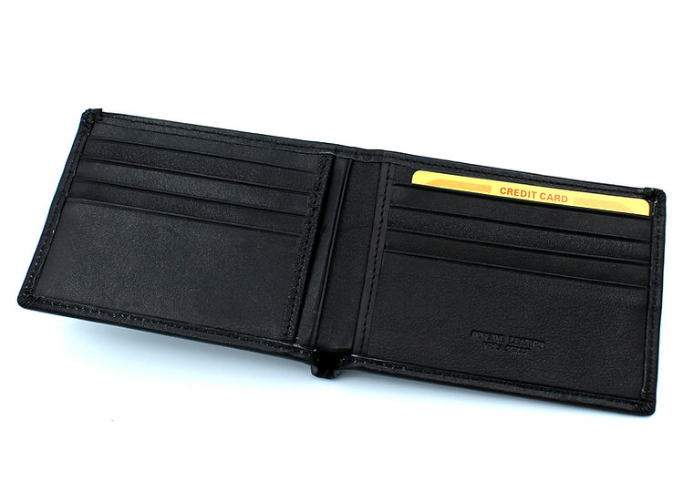 Man Leather wallet soft leather Vera Pelle