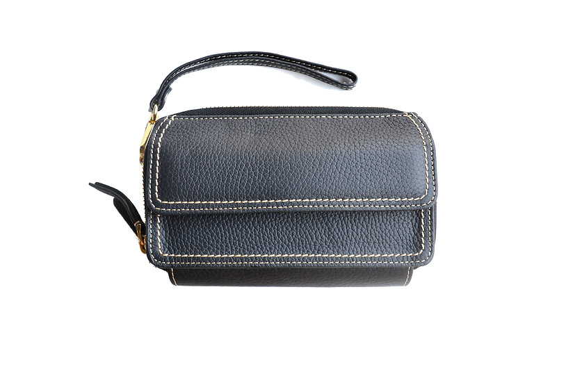 cross body leather wallet high quality