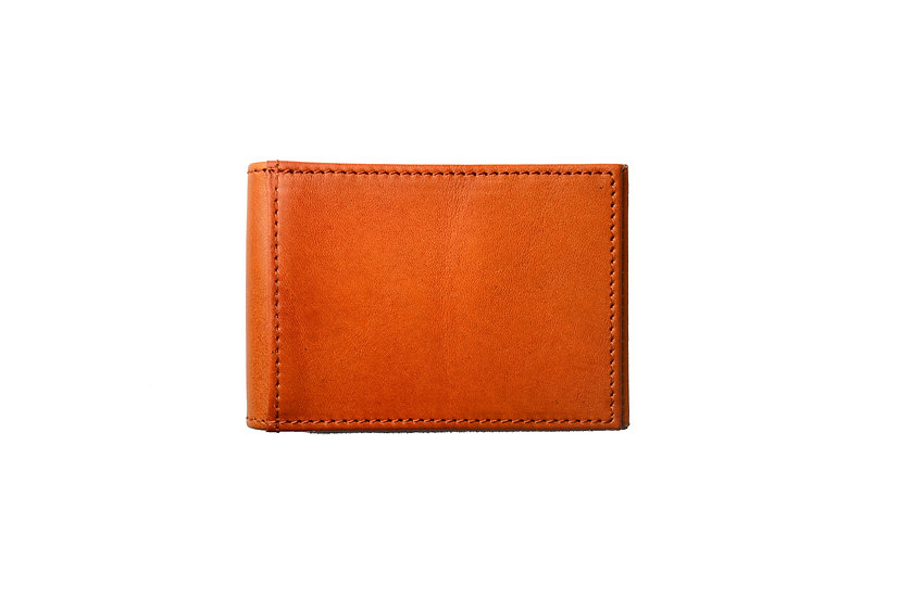 Genuine Leather money clip wallet