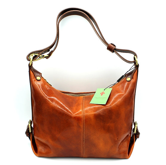 Women Leather Shoulder Bag Crossbody Made in Italy