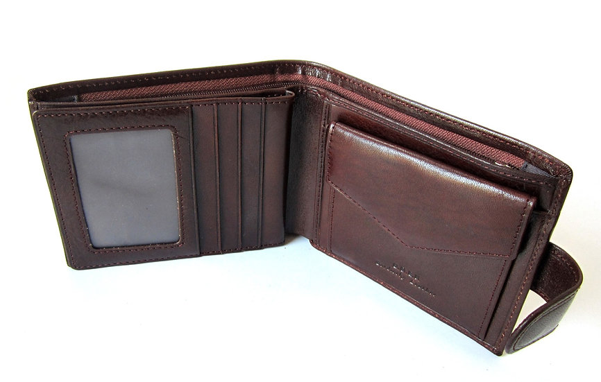 Man Leather Wallet Florence