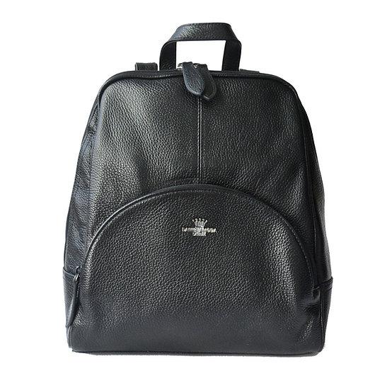 Leather Backpack Daniela Moda Italy
