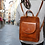 Thumbnail: Leather backpack Made in Italy