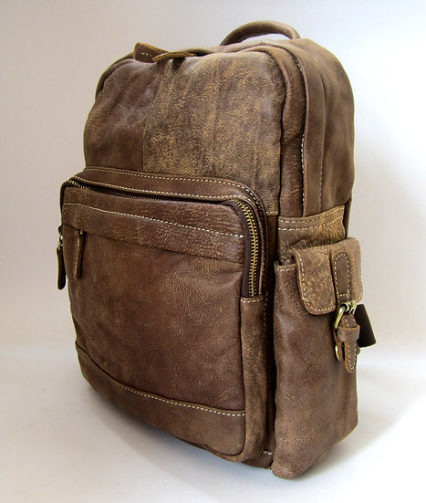 Amica Leather Backpack Nubuck Leather
