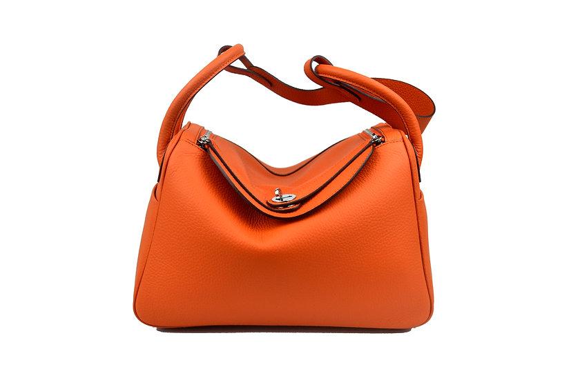Leather handbag Bella