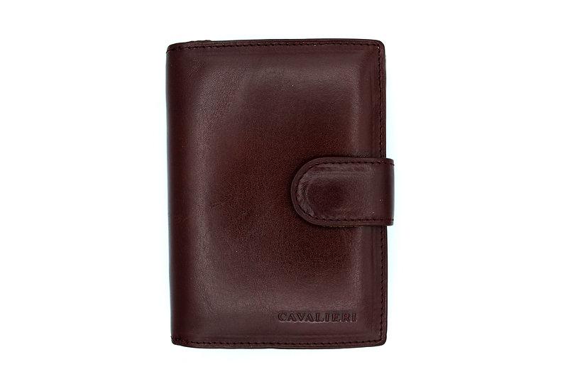 Cavalieri leather wallet