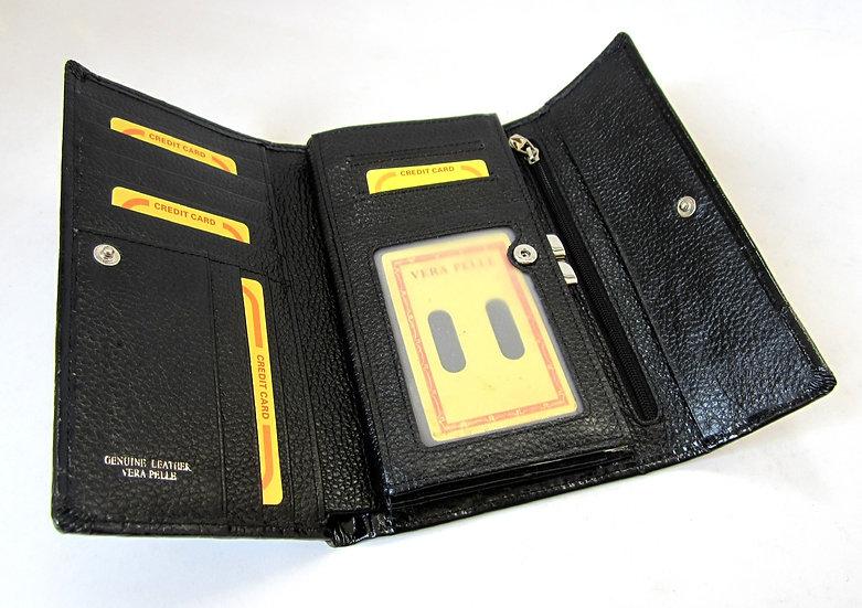Women Leather wallet Crocodile Amica st230