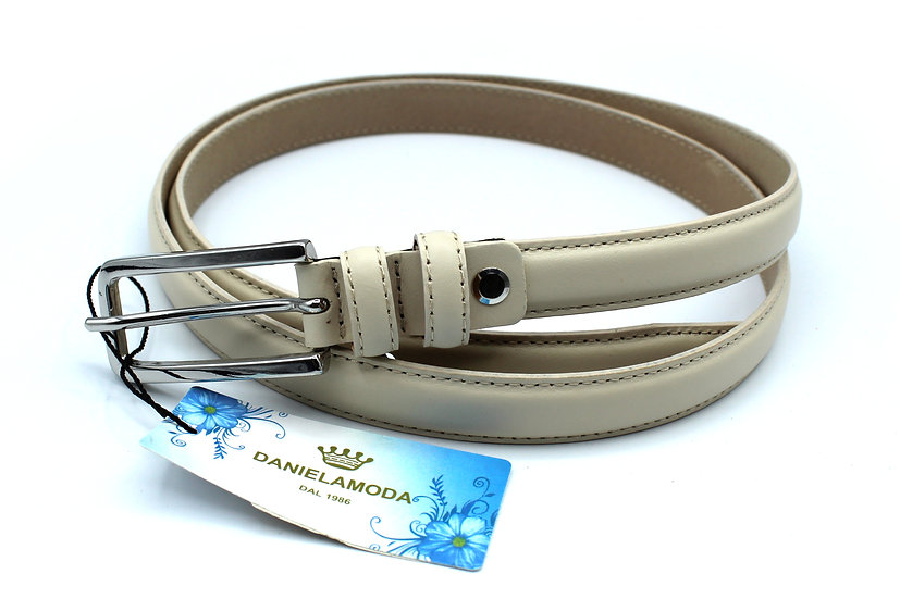 Women Leather belt Daniela Moda Made in Italy