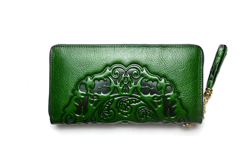 Leather Wallet Elegant quality, Green