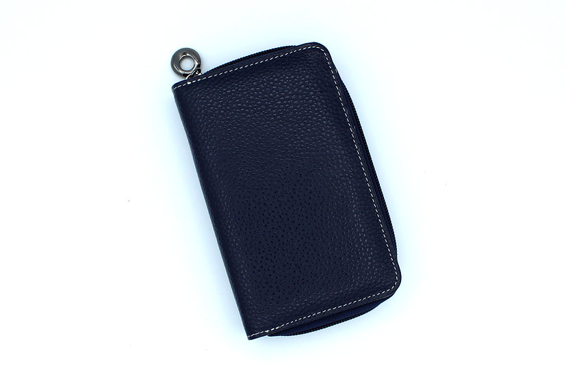 Leather wallet Amica double compartments