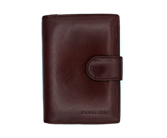 Cavalieri leather wallet